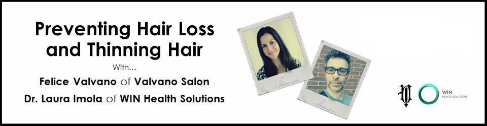FREE Webinar!  Preventing Hair Loss
