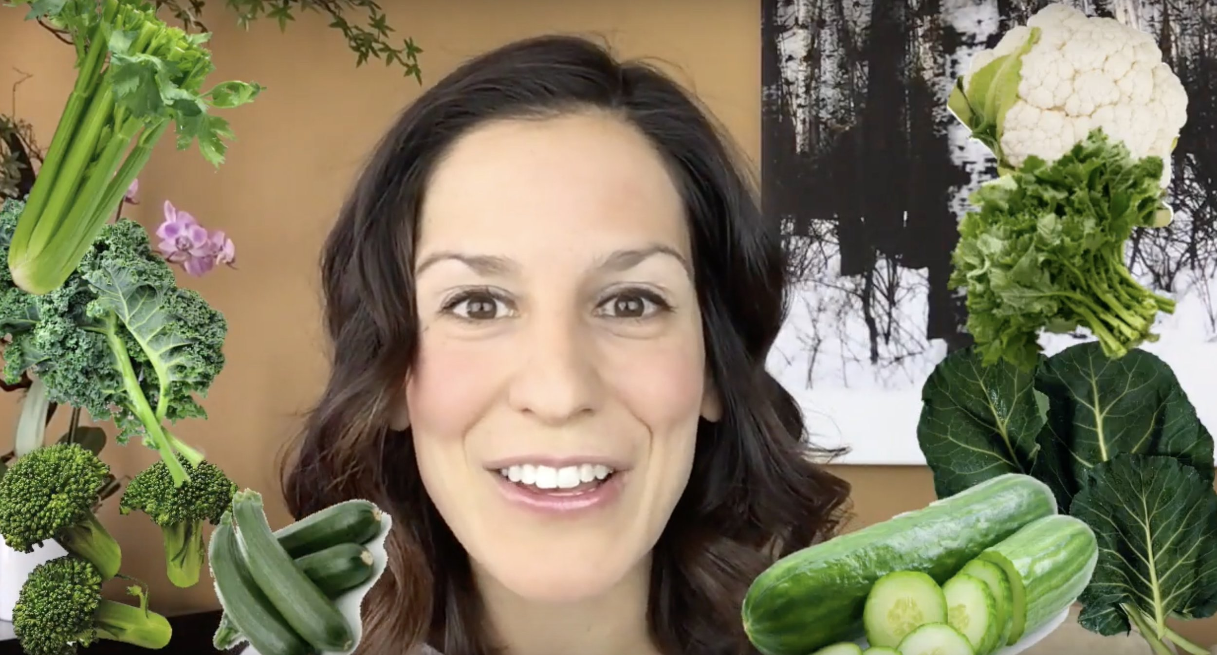 Dr. Laura's WIN Health Tips: Eat More Veg With Less Distress