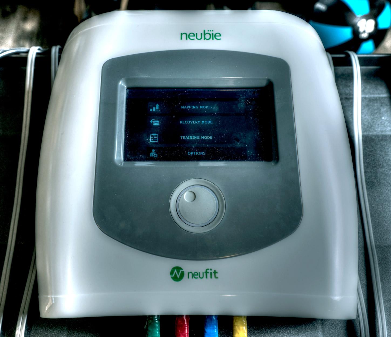 Neubie Therapy machine close up